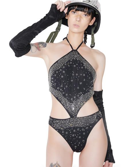Altered Reality Beaded Bodysuit