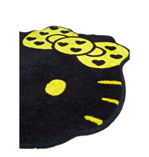 Sanrio Golden Hello Kitty Rug