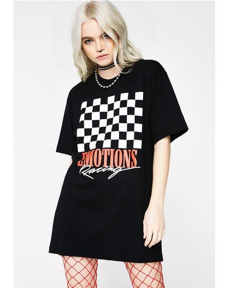 Emotions Racing Flag Tee