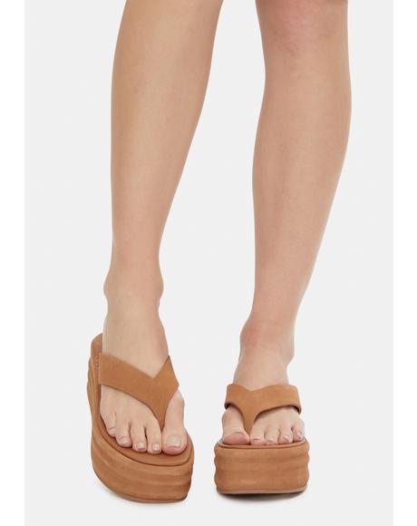 Haven Thong Flatform Sandals
