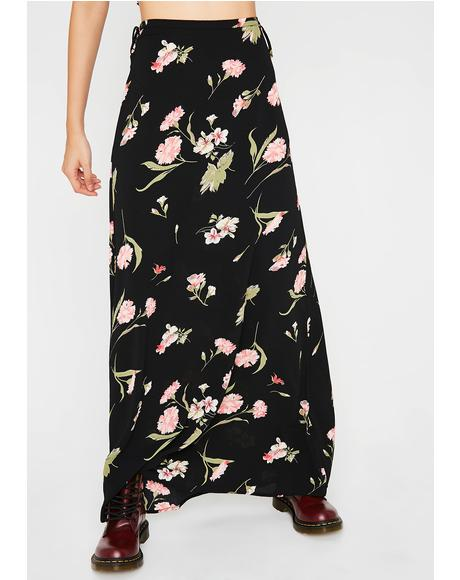 Whoopsy Daisy Maxi Skirt