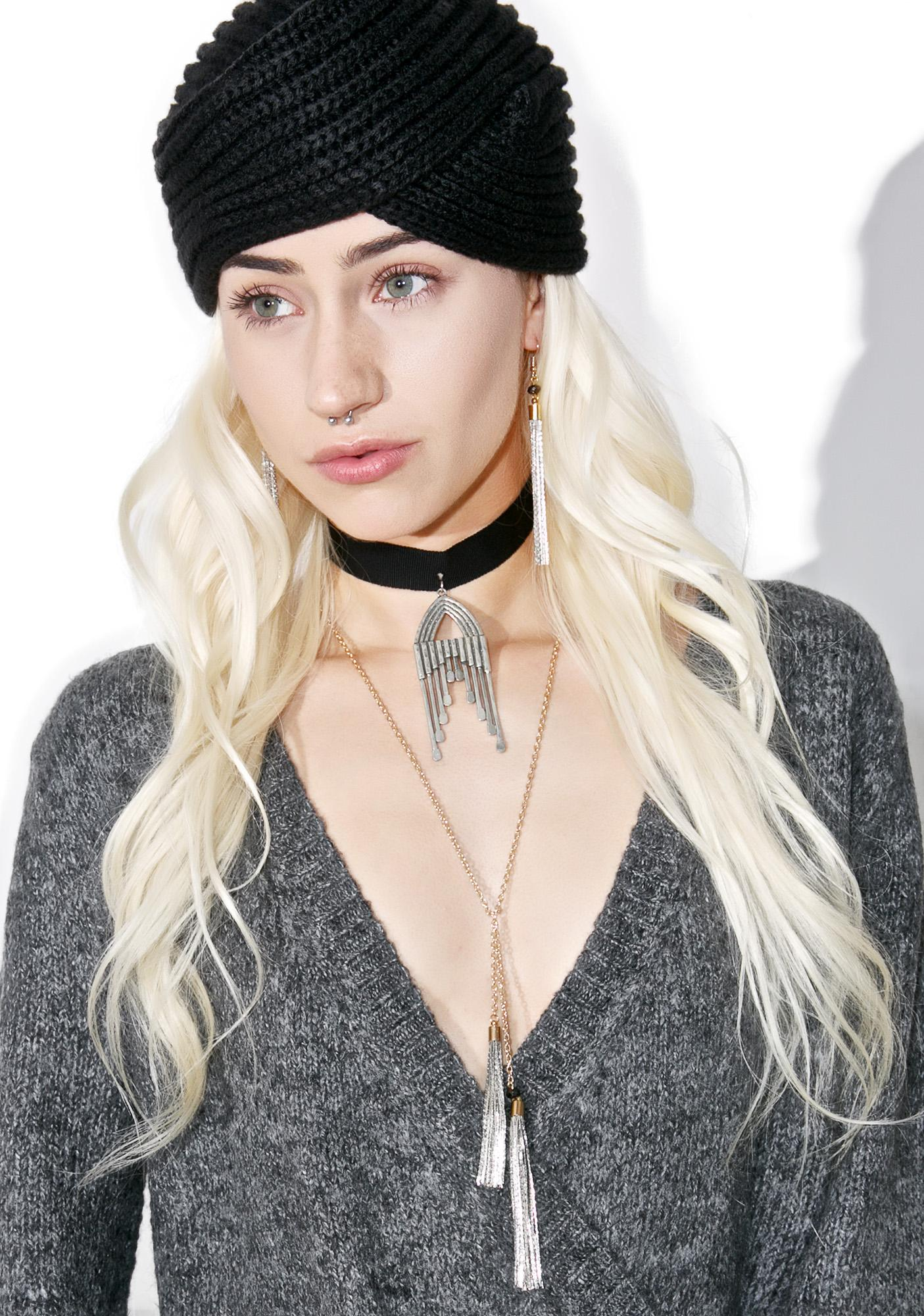 The 2Bandits Long Motif Choker