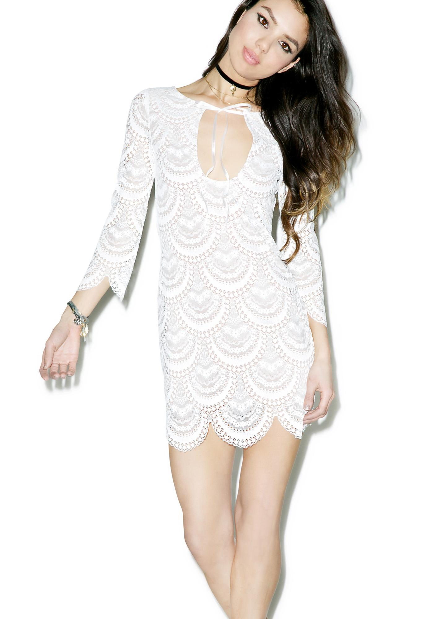 For Love & Lemons Rosalita Mini Dress