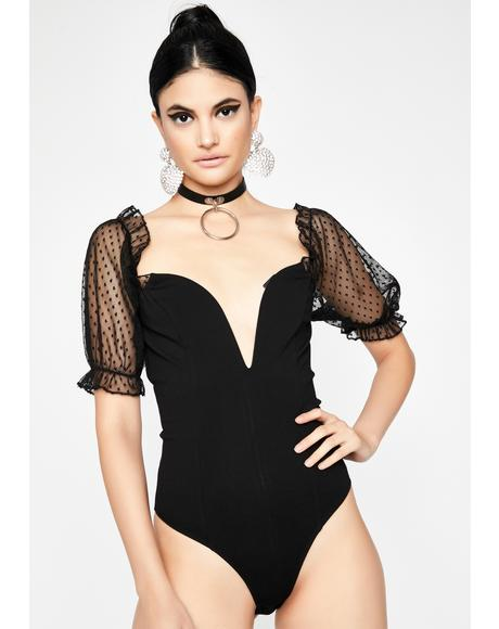 You'll Understand Plunge Bodysuit