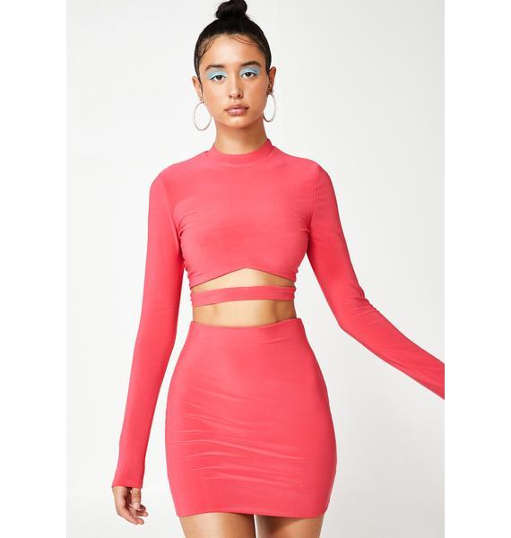 Haute In Here Skirt Set