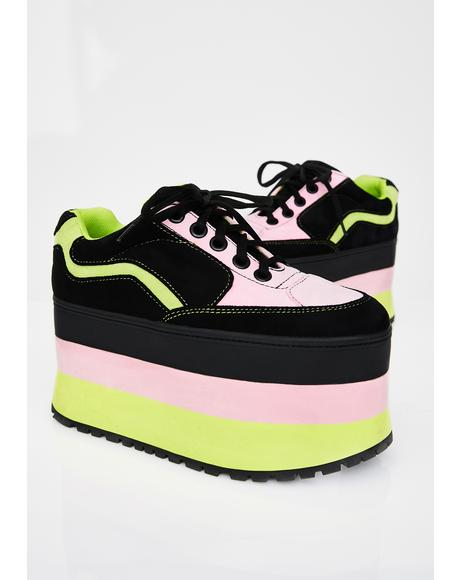 Star Stomperz Platform Sneakers