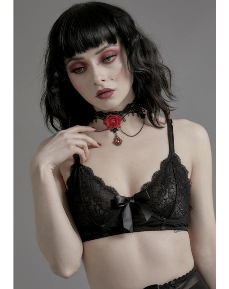 Unrequited Love Lace Bra