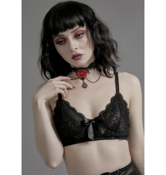 Widow Unrequited Love Lace Bra