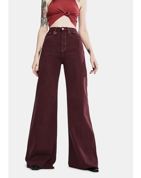 Cherry Bomb Siren Sweep Jeans