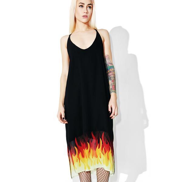 The Ragged Priest Inferno Dress