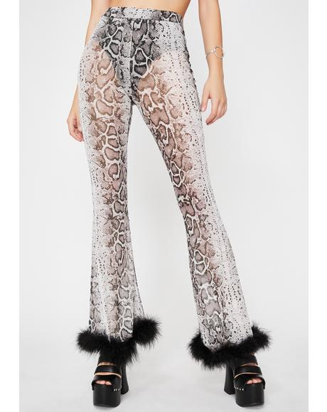Exotic Fierce N' Fabulous Sheer Pants