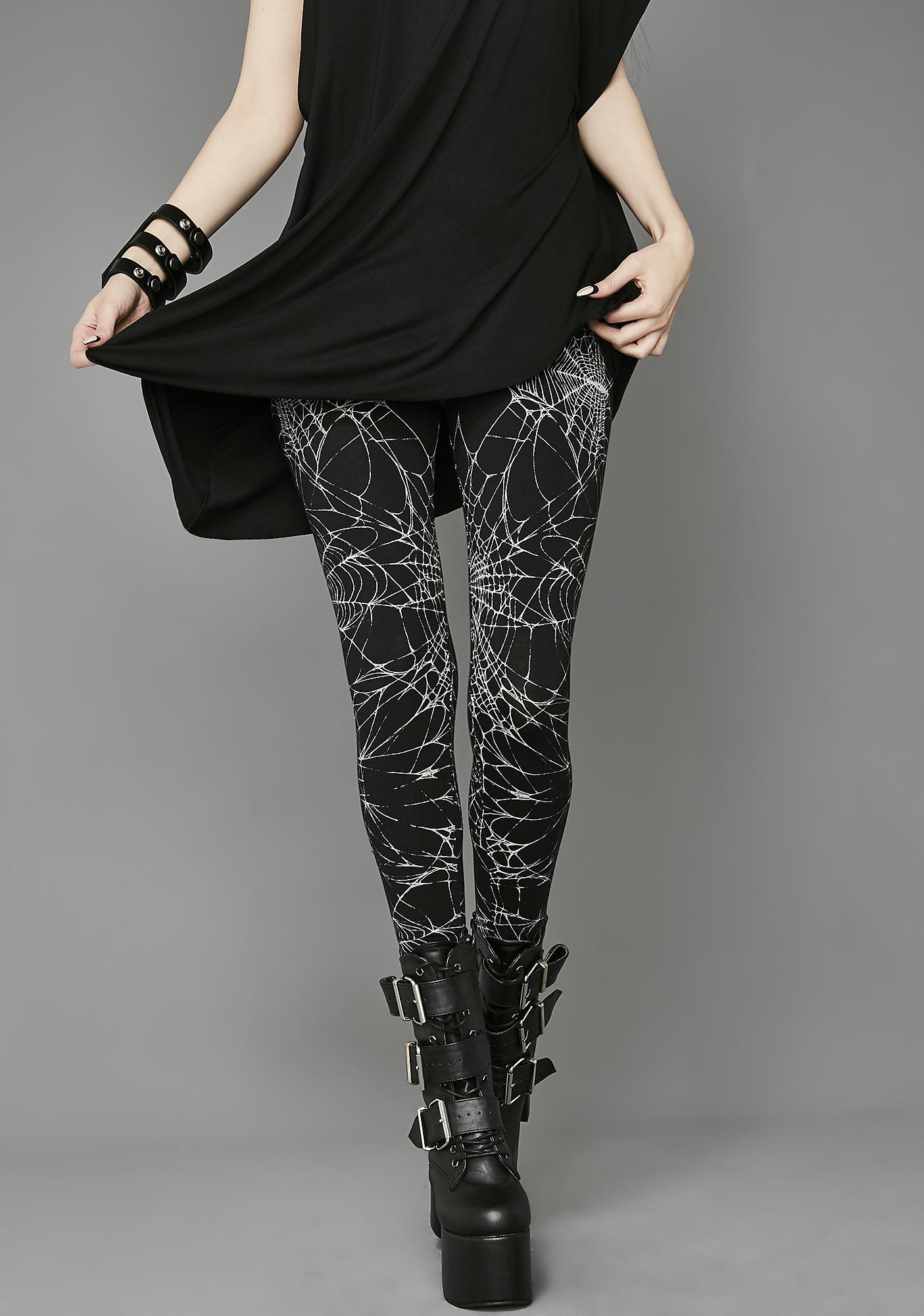 Raven's Night Leggings by Widow