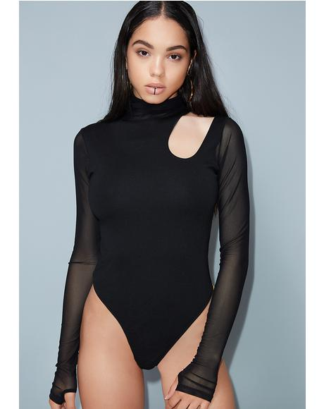 Back Atcha Cut-Out Bodysuit