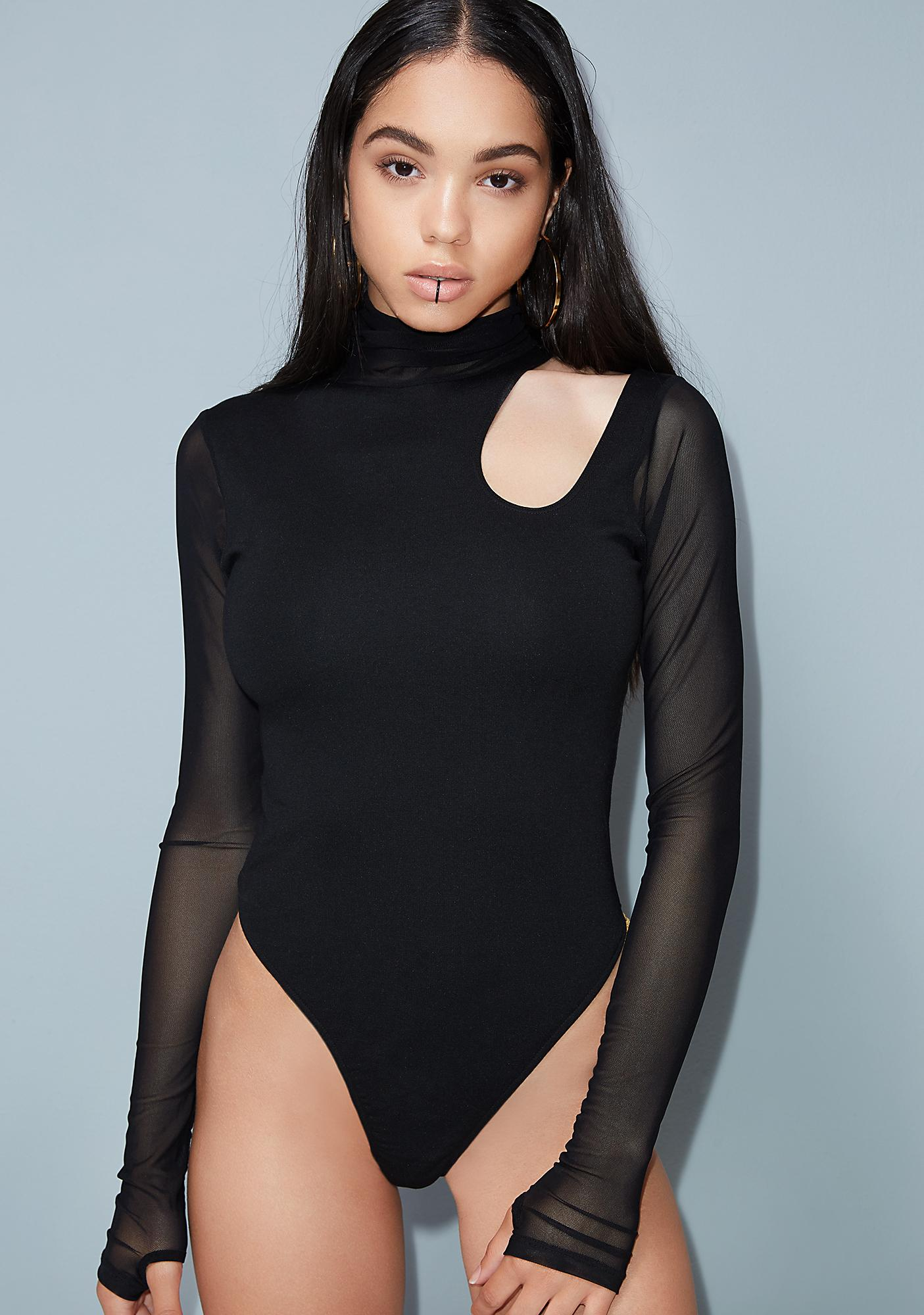 Poster Grl Back Atcha Cut-Out Bodysuit