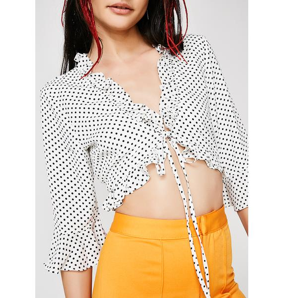 Givin' All Smiles Crop Top