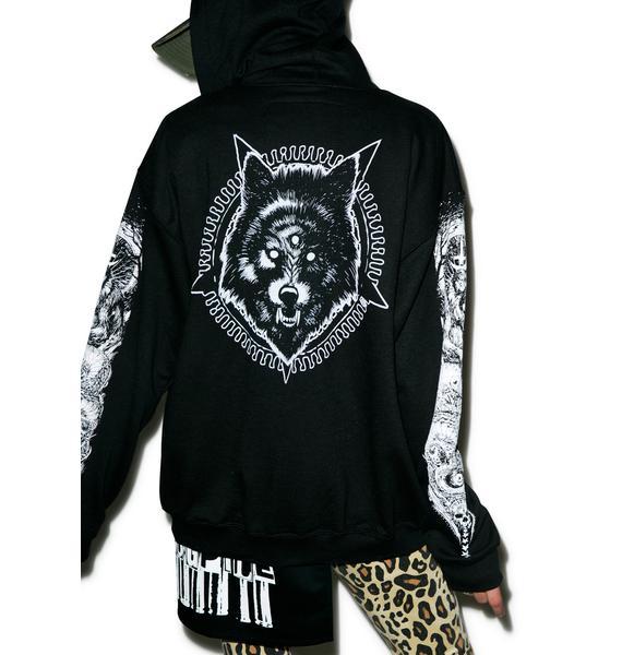 Junker Wolfpack Slate Hoodie