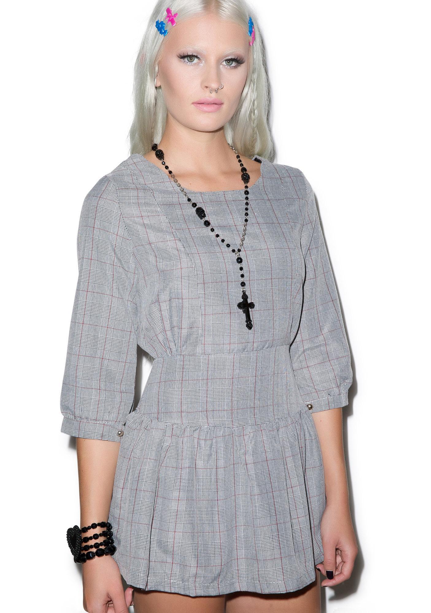 Executive Choice Plaid Dress
