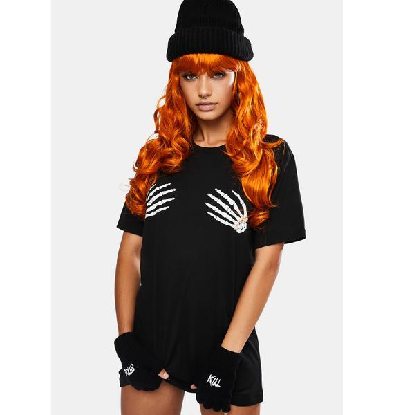Ginger Misfit Wavy Wig