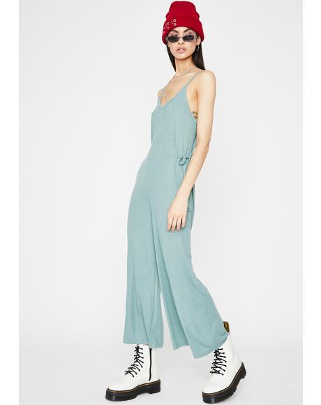 Chill Don't Talk To Me Tank Jumpsuit