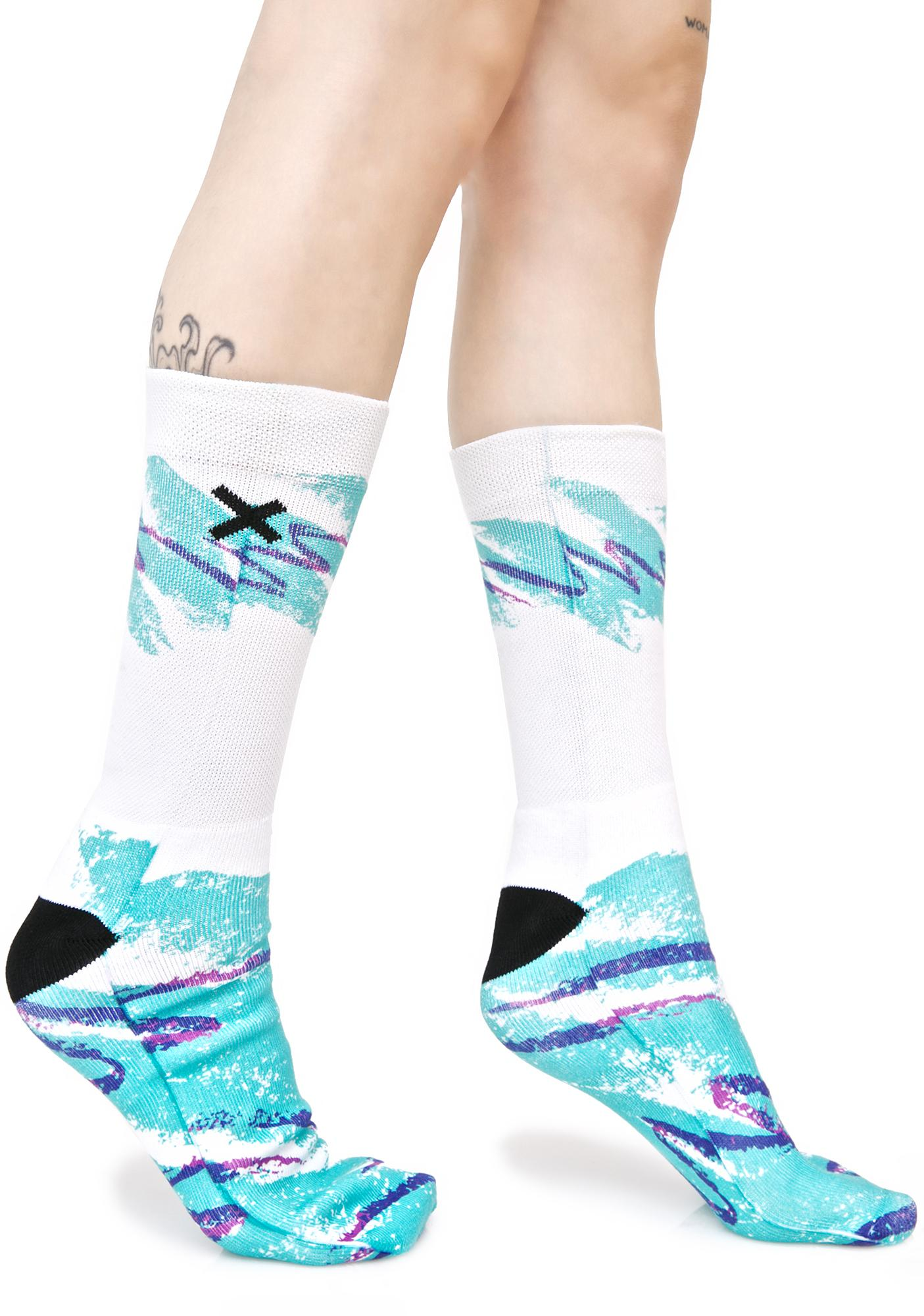 Odd Sox Jazz Feet Socks
