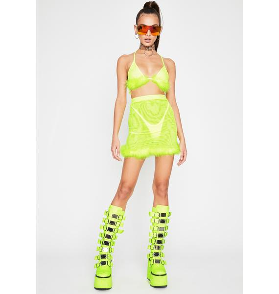 Toxic Homewreckin' Hottie Skirt Set