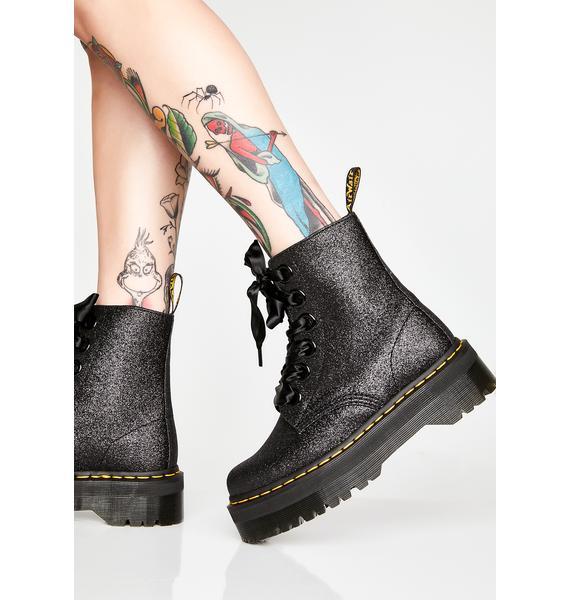 Dr. Martens Molly Glitter Boots