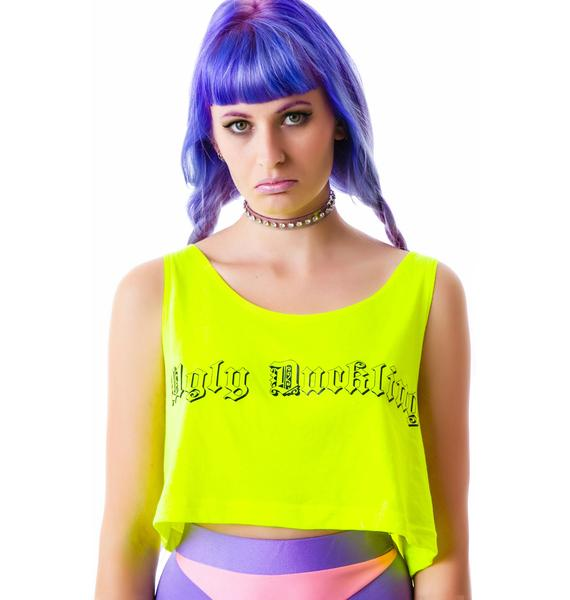 Obscure Couture Malevola Crop Tee