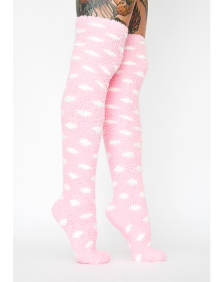 Cloud Climber Knee High Socks