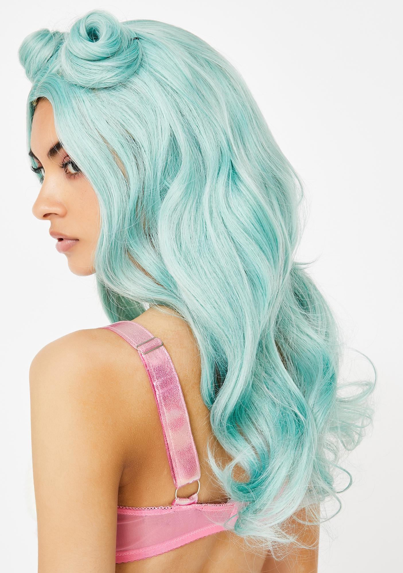 Mermaid Pink Friday UV Wig