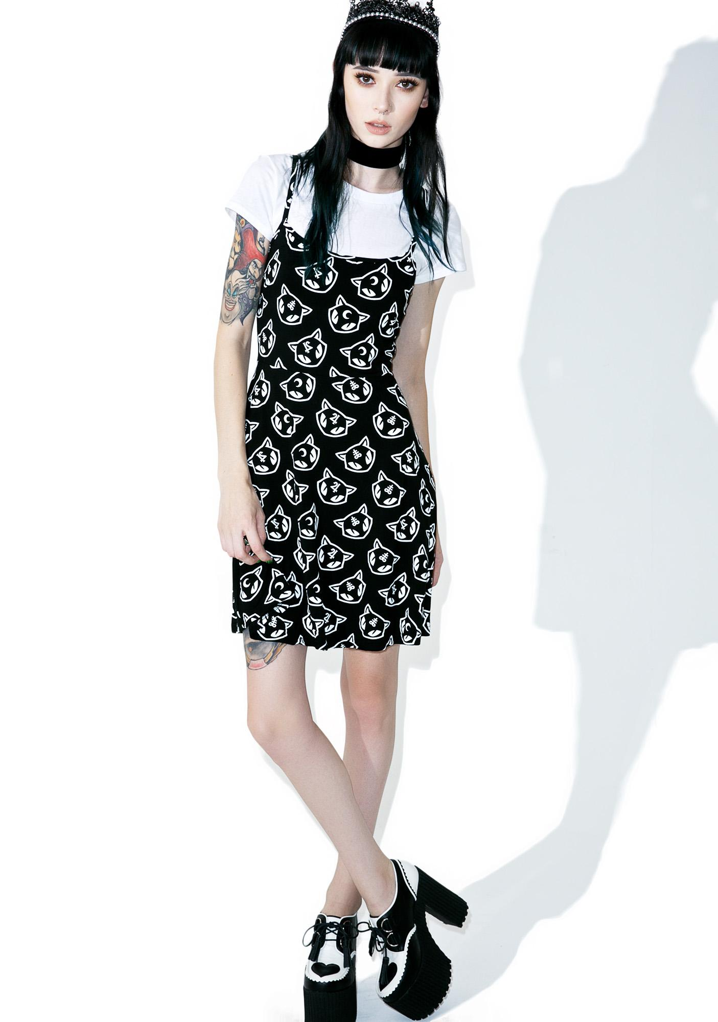 Killstar Purr Grunge Skater Dress