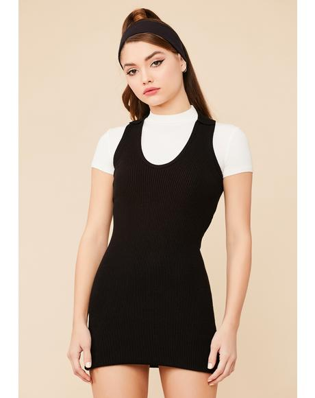 Voted Most Popular Ribbed Mini Dress