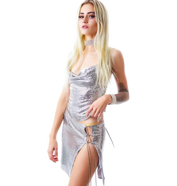 Shine Bright Sequin Skirt