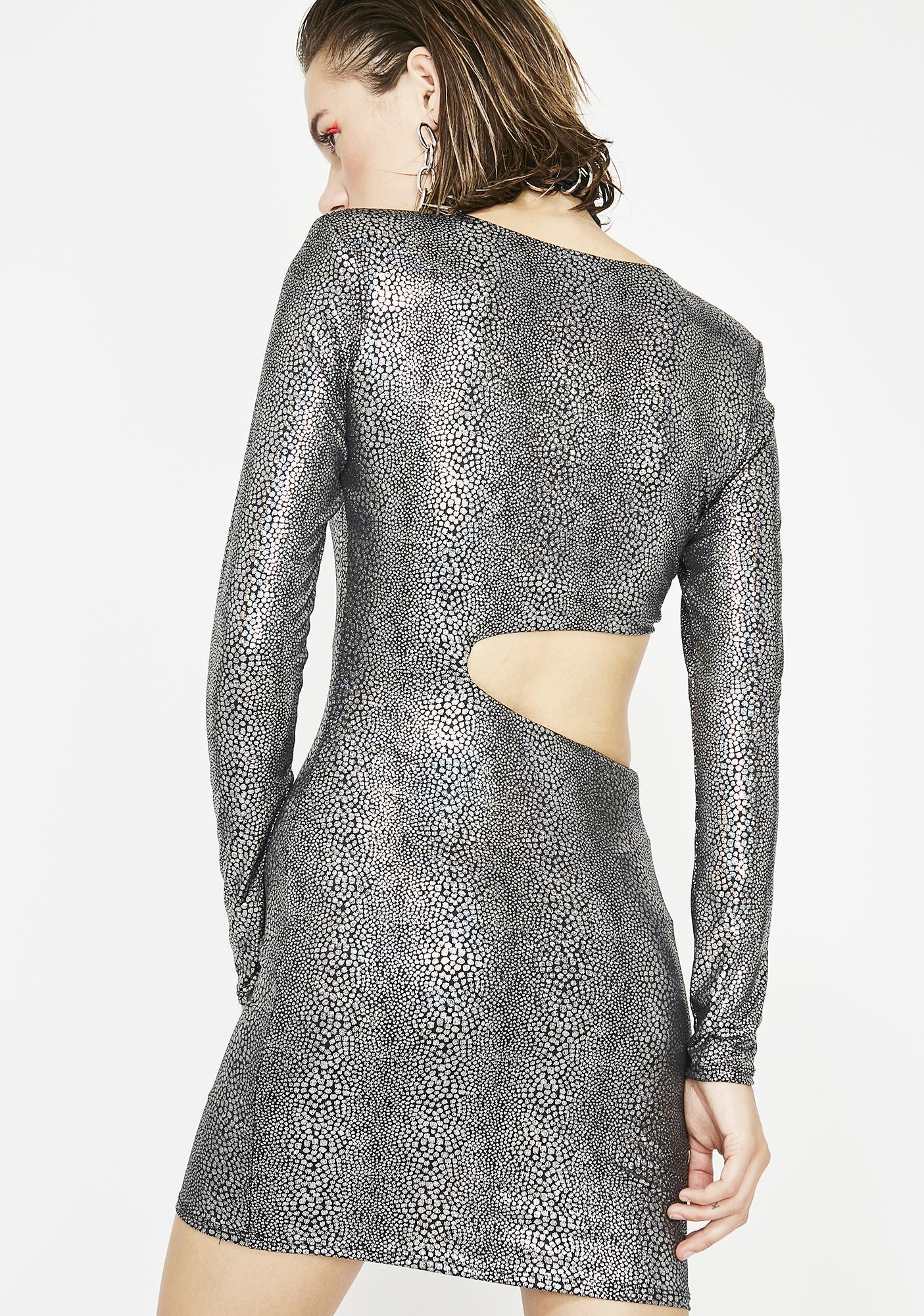 Cosmic Spirit Mini Dress