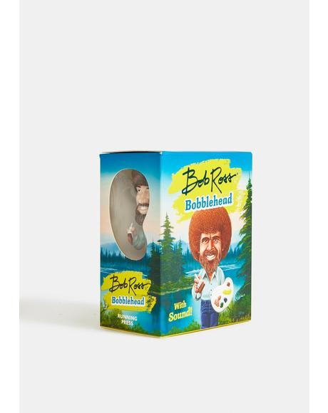 Bob Ross Talking Bobblehead
