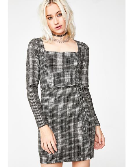 Wicked Company Plaid Dress