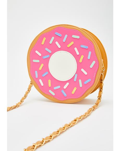 Sugar Glazed Doughnut Purse