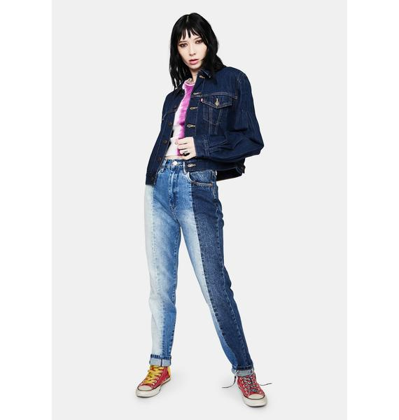 Levis Wasted Full Sleeve Denim Trucker Jacket