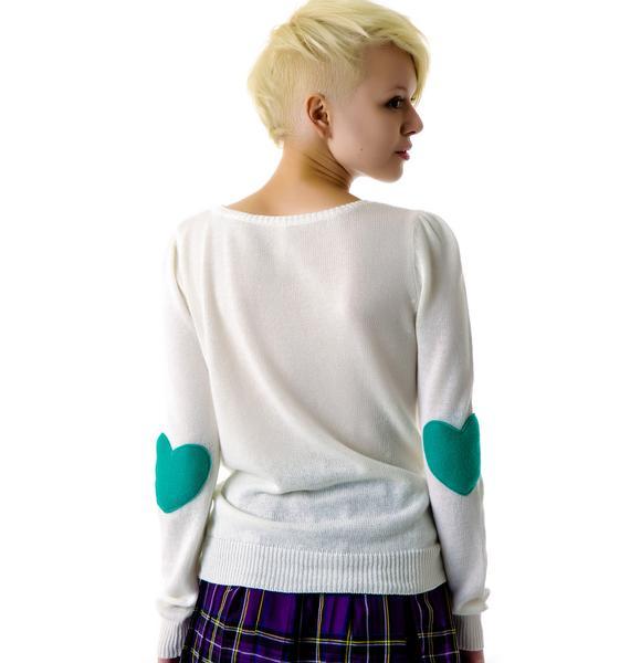 Heart On My Sleeve Sweater