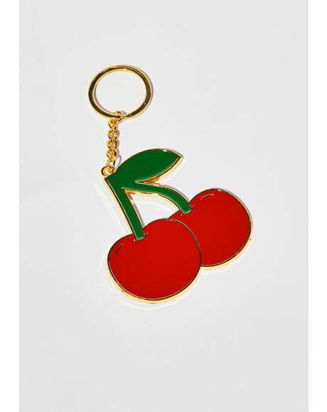 Total Tart Cherry Keychain