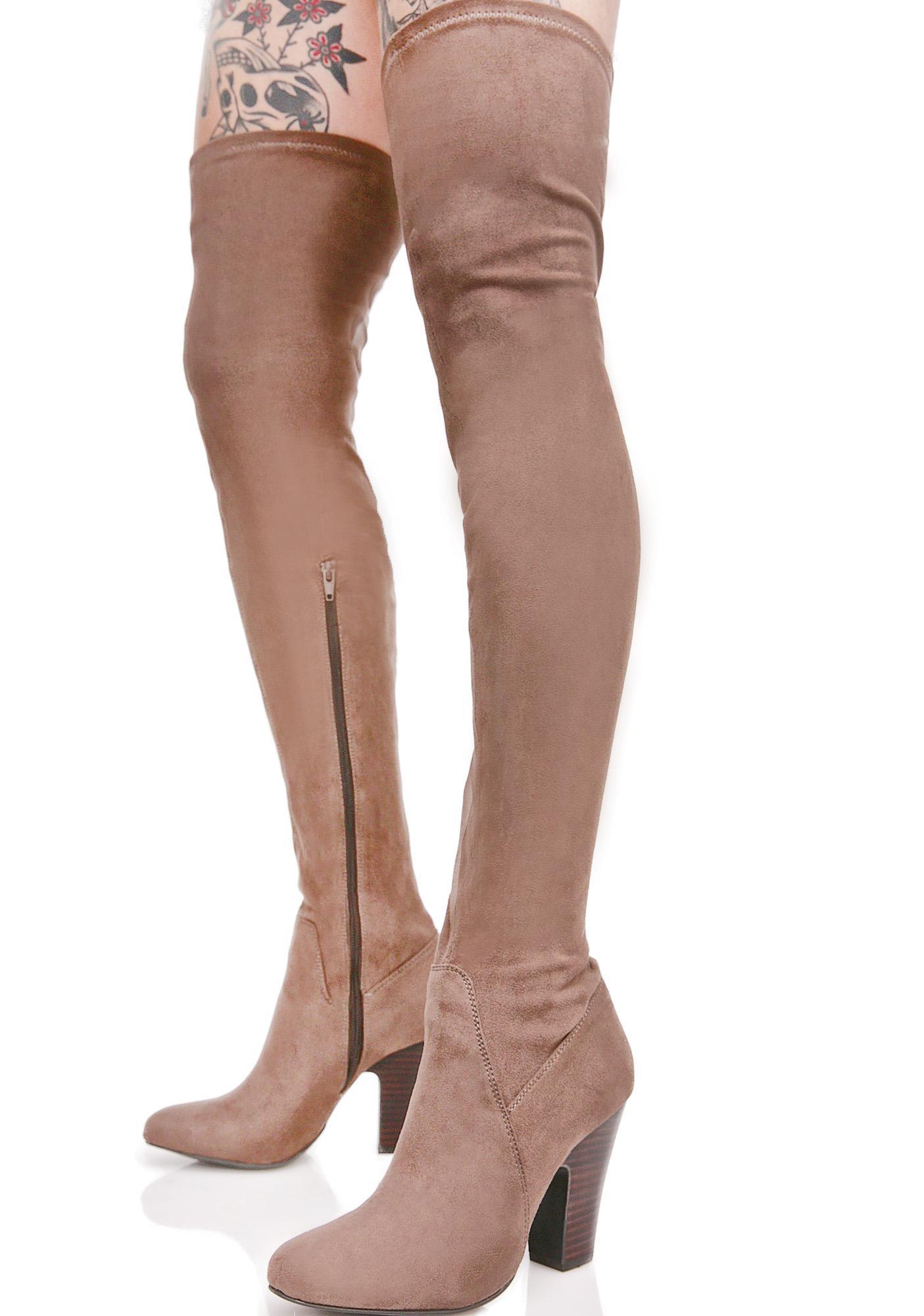 Solar Thigh-High Boots