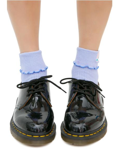 Rose Ruffle Socks