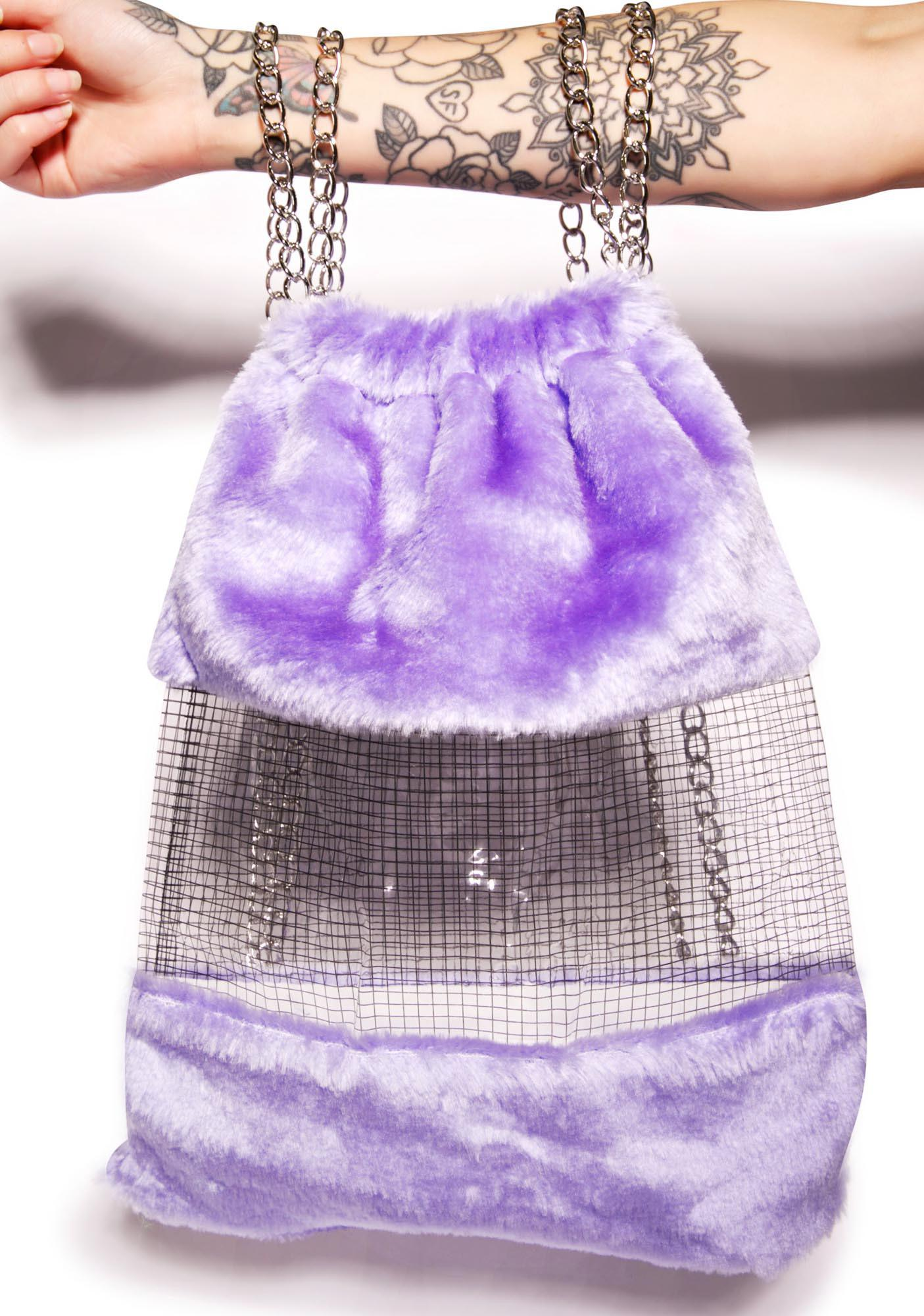 Fluffy Dreamz Drawstring Backpack