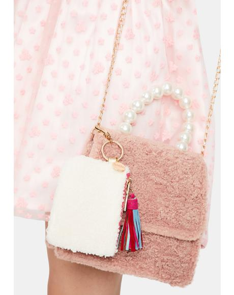 Warm Fuzzy Keychain Wallet