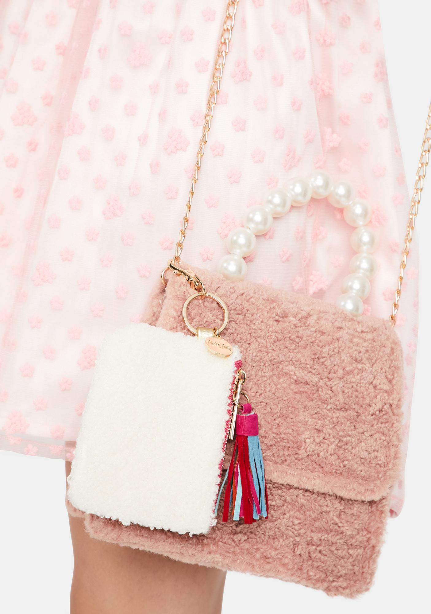 Packed Party Warm Fuzzy Keychain Wallet