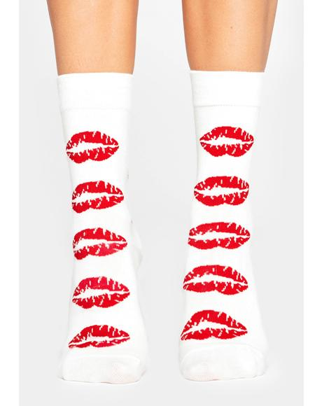 Makeout Sesh Crew Socks