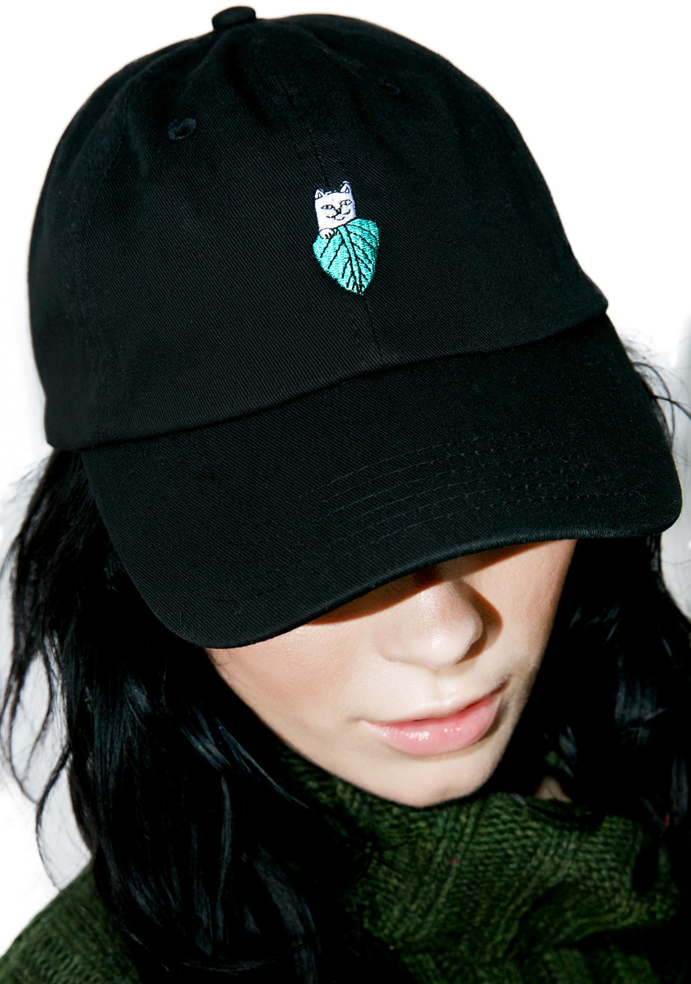 fc81096eacc64 RIPNDIP Nermal Leaf Dad Hat