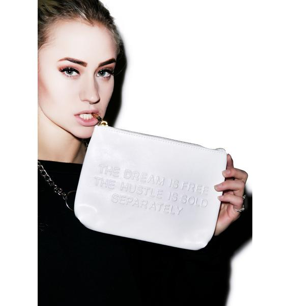 Dimepiece Hustle And Dream Clutch