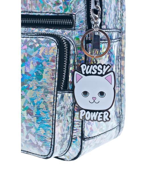 Local Heroes Pussy Power Keychain
