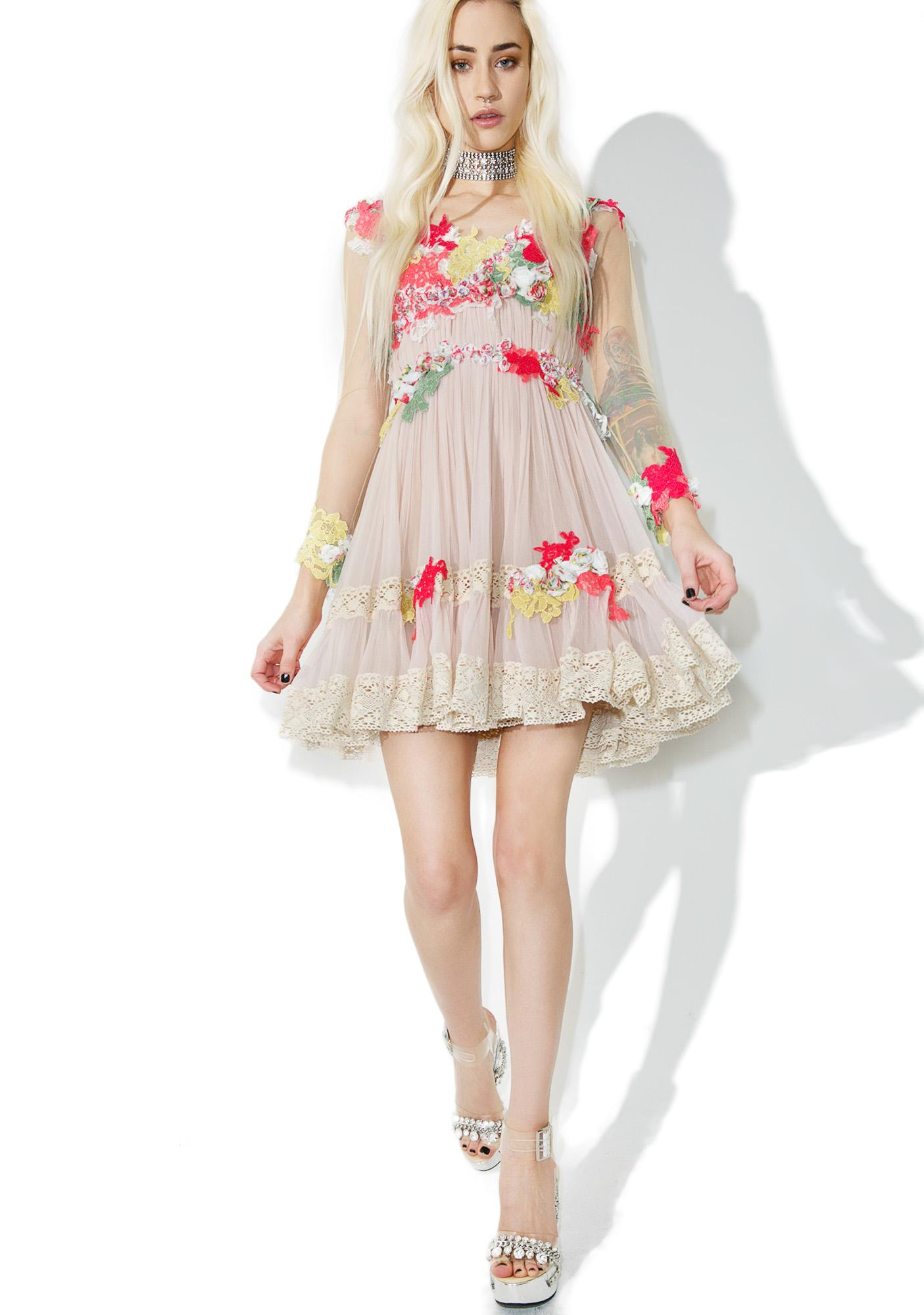 Dew Drop Floral Dress