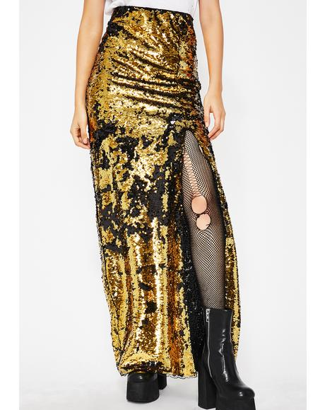 Goldie Forever Shinin' Sequin Skirt